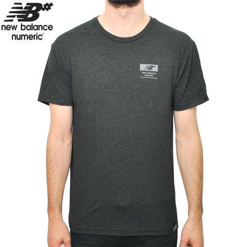 【NEW BALANCE NUMERIC ニューバランス Tシャツ】REFLEX PREMIUM SKATE TEE【チャコール ヘザー】NO1