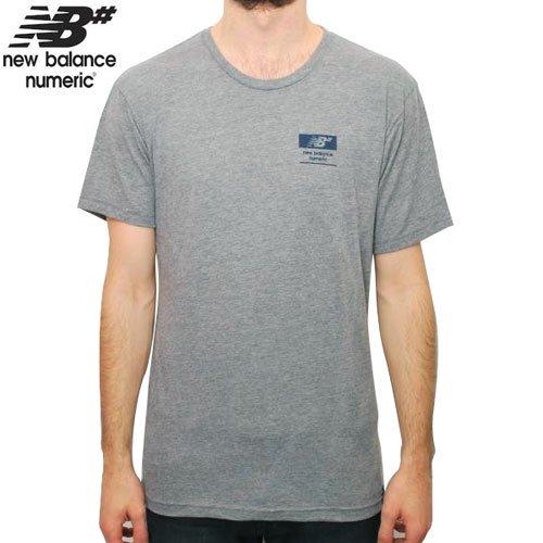 【NEW BALANCE NUMERIC ニューバランス Tシャツ】REFLEX PREMIUM SKATE TEE【グレー ヘザー】NO2