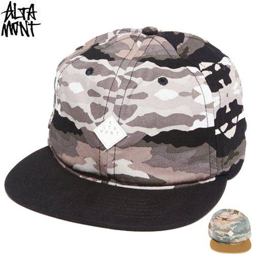【オルタモント ALTAMONT スケボー キャップ】PAINT BY BALL CAP【BLACK CAMO】【FATIGUE】NO13