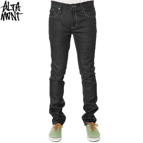 【オルタモント ALTAMONT デニム パンツ】ALAMEDA SLIM DENIM BLACK RAW【ブラック】NO10