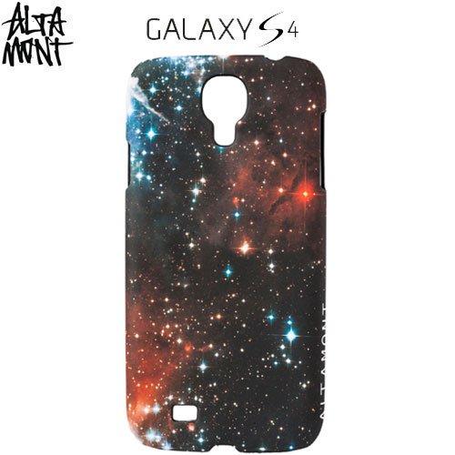【オルタモント ALTAMONT スマホケース】NEBULA SAMSUNG GALAXY S4 CASE【宇宙】NO1