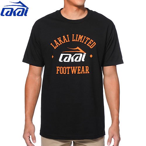 【LAKAI ラカイ スケボー Tシャツ】LAKAI SQUAD TEE【ブラック】NO22