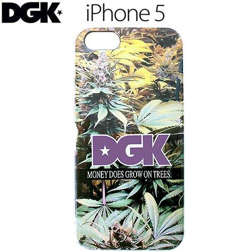 【ディージーケー DGK スマホ ケース】MONEY TREE IPHONE 5・5S CASE NO4