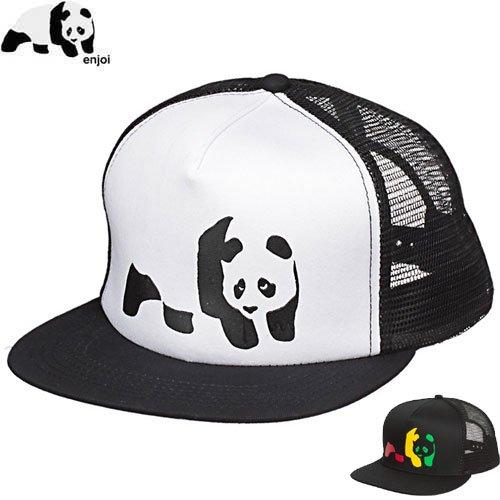 【エンジョイ ENJOI スケボー キャップ】PANDA TRUCKER HAT【2カラー】NO42