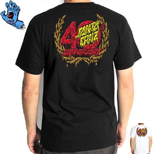 SALE! 【サンタクルズ SANTA CRUZ Tシャツ】40TH GUTS REGULAR TEE【ブラック】【ホワイト】NO81