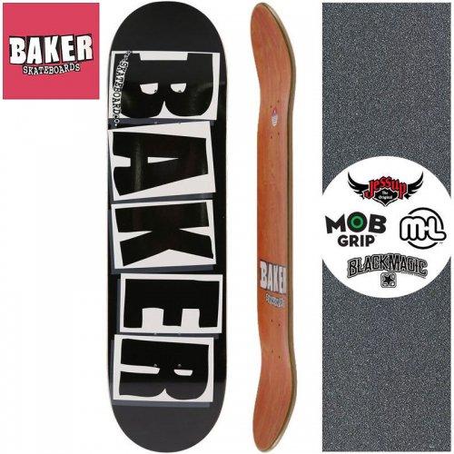 【ベーカー BAKER スケートボード デッキ】BRAND LOGO BLACK/WHITE DECK【8.0インチ】【8.125インチ】【8.25インチ】【8.475インチ】NO128