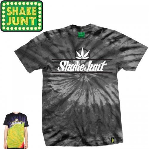 【シェイクジャント SHAKE JUNT Tシャツ】PURE BUD TEE【ブラック】【ラスタ】NO27