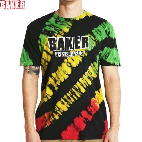 SALE! 【BAKER ベーカー スケボー Tシャツ】BRAND LOGO BAMBOO TIE DYE TEE【タイダイ】NO52