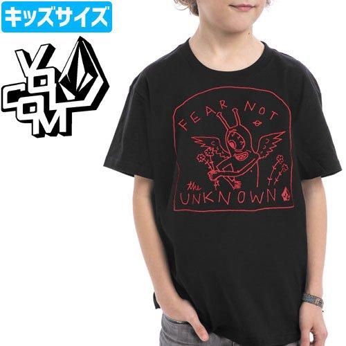 【ボルコム VOLCOM キッズ Tシャツ】OZZIE FEARNOT TEE YOUTH【ボーイズサイズ】【ブラック】NO57