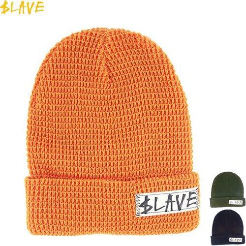 【スレイブ SLAVE スケボー ニットキャップ】SOLID BEANIE【折り返しタイプ】【3カラー】NO4
