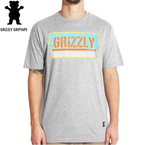 【グリズリー GRIZZLY Tシャツ】SUNRISE STAMP【ヘザーグレー】【DIAMOND SUPPLY】NO26