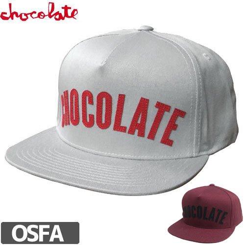【チョコレート CHOCOLATE スケボー キャップ】CHOC LEAGUE STRAPBACK HAT NO63