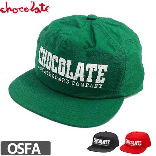 【チョコレート CHOCOLATE スケボー キャップ】CLASSIC NYLON STRAPBACK HAT NO66