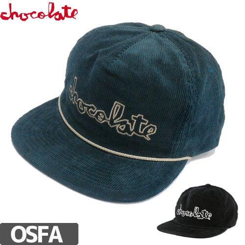 【チョコレート CHOCOLATE スケボー キャップ】CHOC CHUNK CORD SNAPBACK HAT【2カラー】NO68