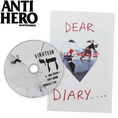 【ANTIHERO アンタイヒーロー DVD】ISRAEL ADVENTURE【小冊子付き】NO3