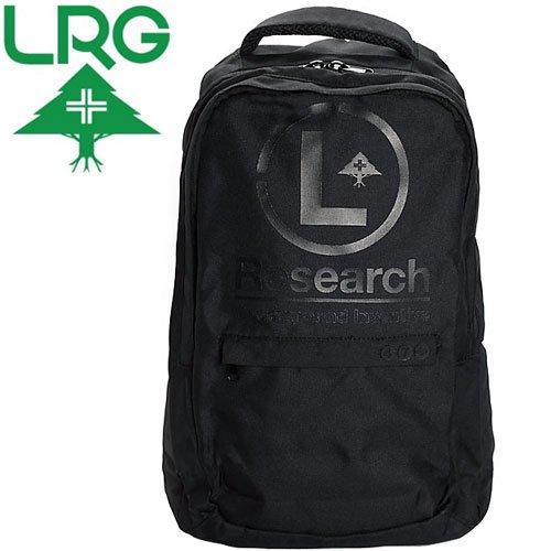 【エルアールジー LRG スケボー バックパック】L-TRAIN BACKPACK【ブラック】NO12