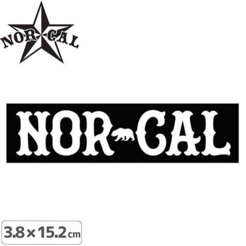 【ノーカル NOR CAL ステッカー】TRUE NORTH STICKER【3.8cm x 15.2cm】NO24