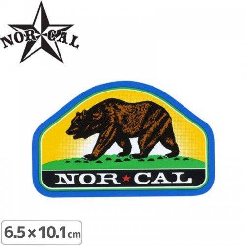 【ノーカル NOR CAL ステッカー】PARK RANGER STICKER【6.5cm x 10.1cm】NO25
