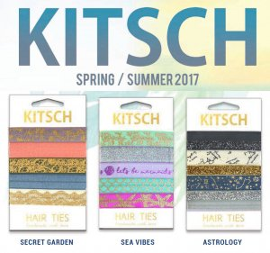Kitsch(キッチュ)ヘアゴム/ヘアアクセサリー5本セット/ブレスレット/Secret Garden/Sea Vibes/Astrology/Hair Ties<img class='new_mark_img2' src='https://img.shop-pro.jp/img/new/icons16.gif' style='border:none;display:inline;margin:0px;padding:0px;width:auto;' />