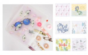 Kitsch(キッチュ)クリアポーチ/ジップ付きビニールケース/6種類<img class='new_mark_img2' src='https://img.shop-pro.jp/img/new/icons16.gif' style='border:none;display:inline;margin:0px;padding:0px;width:auto;' />