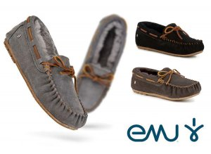 EMU(エミュー)ムートンモカシン/Amity Moccasin/シープスキンシューズ/ローファー<img class='new_mark_img2' src='https://img.shop-pro.jp/img/new/icons16.gif' style='border:none;display:inline;margin:0px;padding:0px;width:auto;' />