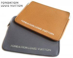 パリ限定!LOUIS VUITTON/ルイヴィトン美術館/ノートパソコン&タブレットケース 15インチラップトップケース/小物ポーチ/FONDATION LOUIS VUITTON