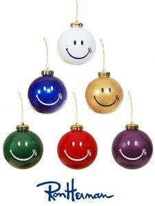ロンハーマン(Ron Herman)スマイルオーナメント/RH Happy Face Ornament