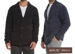 ベアフットドリームス(Barefoot Dreams)メンズカーディガン/CozyChic Men's Shawl Collar Cardigan/BDMCC1048<img class='new_mark_img2' src='https://img.shop-pro.jp/img/new/icons16.gif' style='border:none;display:inline;margin:0px;padding:0px;width:auto;' />