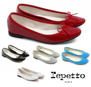 Repetto(レペット) サンドリオン バレエシューズ Cendrillon パテントレザー エナメルパンプス フラットシューズ 革靴<img class='new_mark_img2' src='https://img.shop-pro.jp/img/new/icons16.gif' style='border:none;display:inline;margin:0px;padding:0px;width:auto;' />