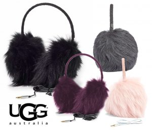 UGG(アグ)ロングファー ムートンヘッドフォン耳あて/イヤーマフ/シープスキン/BOX付き/LONG PILE SHEEPSKIN TECH EARMUFF<img class='new_mark_img2' src='https://img.shop-pro.jp/img/new/icons16.gif' style='border:none;display:inline;margin:0px;padding:0px;width:auto;' />