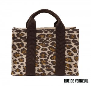 Rue De Verneuil(リュ ドゥ ヴェルヌイユ)2Wayトートバッグ/MINI TOTE/PANTHER/レオパード柄/パンサー柄<img class='new_mark_img2' src='https://img.shop-pro.jp/img/new/icons16.gif' style='border:none;display:inline;margin:0px;padding:0px;width:auto;' />