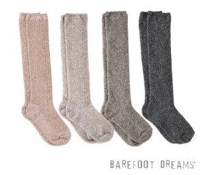 ベアフットドリームス(Barefoot Dreams)靴下レディース/ひざ下丈リブドニットソックス/コージーシック Cozychic Women's Ribbed Sock #BDWCC1075<img class='new_mark_img2' src='https://img.shop-pro.jp/img/new/icons16.gif' style='border:none;display:inline;margin:0px;padding:0px;width:auto;' />
