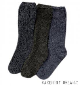 ベアフットドリームス(Barefoot Dreams)靴下メンズ/リブドニットソックス/コージーシックソックス Cozychic Men's Ribbed Sock #BDMCC1077<img class='new_mark_img2' src='https://img.shop-pro.jp/img/new/icons16.gif' style='border:none;display:inline;margin:0px;padding:0px;width:auto;' />