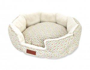 キャスキッドソン(Cath Kidston)SMサイズ ドッグベッド ペット用ベッド 犬用ソファー プロバンスローズ柄 Pet Bed with Luxury Inner