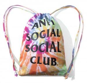 アンチソーシャルソーシャルクラブ(ANTI SOCIAL SOCIAL CLUB)リュック バックパック 巾着 レインボータイダイ ASSC