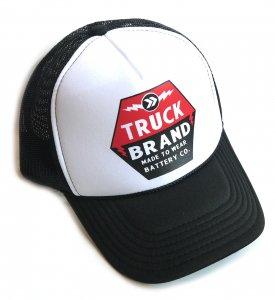 トラックブランド(Truck Brand)BATTERYメッシュキャップ/ブラック×ホワイト<img class='new_mark_img2' src='https://img.shop-pro.jp/img/new/icons16.gif' style='border:none;display:inline;margin:0px;padding:0px;width:auto;' />