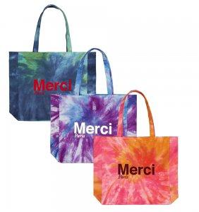 Merci Paris(メルシー パリ)エコバッグ タイダイトートバッグ オーガニックコットン パリ直輸入