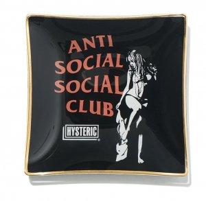クリアランス/トレー 灰皿 ヒステリックグラマー×アンチソーシャルソーシャルクラブ(HYSTERIC GLAMOUR×Anti Social Social Club)