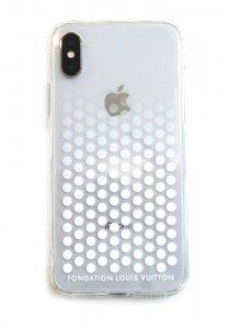 パリ限定!LOUISVUITTON/ルイヴィトン美術館/iPhone7/8、X/XSケース/FONDATIONLOUISVUITTON/iPhoneケース/アイフォン専用カバー/スマホケース