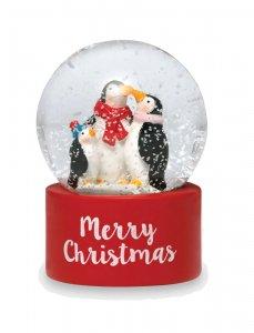 【2020年クリスマス限定】キャスキッドソン(Cath Kidston)ミニスノードーム ペンギン Festive Party Animals Snowglobe
