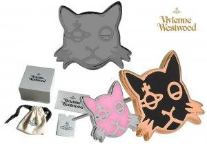 【2020-21年秋冬モデル】ヴィヴィアンウエストウッド(Vivienne Westwood)猫 ピアス キャット カットオーブ Kat Orb Stud Earrings<img class='new_mark_img2' src='https://img.shop-pro.jp/img/new/icons16.gif' style='border:none;display:inline;margin:0px;padding:0px;width:auto;' />