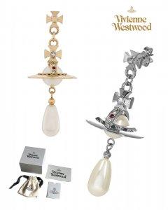 クリアランス/【2020-21年秋冬モデル】ヴィヴィアンウエストウッド(Vivienne Westwood)パールオーブドロップ ピアス Pearl Drop Orb Earrings<img class='new_mark_img2' src='https://img.shop-pro.jp/img/new/icons16.gif' style='border:none;display:inline;margin:0px;padding:0px;width:auto;' />