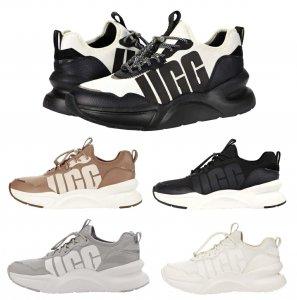 【2020年冬入荷】UGG アグ スニーカー/LA Daze Sneaker/エルエーデイズ 厚底ソール レディース/ブラックホワイト<img class='new_mark_img2' src='https://img.shop-pro.jp/img/new/icons16.gif' style='border:none;display:inline;margin:0px;padding:0px;width:auto;' />