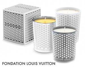 パリ限定!LOUIS VUITTON/ルイヴィトン美術館/アロマキャンドル/ビーガンキャンドル/グラスキャンドル/ろうそく/オレンジ、シトラス、ウッド