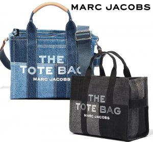 マークジェイコブス(Marc Jacobs) 「THE TOTE BAG」THE DENIM MINI TOTE BAG ザ デニム ミニ トートバッグ ショルダーバッグ H016M06FA21<img class='new_mark_img2' src='https://img.shop-pro.jp/img/new/icons5.gif' style='border:none;display:inline;margin:0px;padding:0px;width:auto;' />