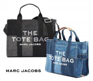 マークジェイコブス(Marc Jacobs) 「THE TOTE BAG」THE DENIM SMALL TOTE BAG ザ デニム スモール トートバッグ ショルダーバッグ H017M06FA21<img class='new_mark_img2' src='https://img.shop-pro.jp/img/new/icons5.gif' style='border:none;display:inline;margin:0px;padding:0px;width:auto;' />