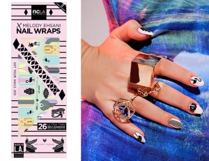 NCLA(エヌシーエルエー)Art Deco/ネイルシール/ネイルラップ/NAIL WRAPS/22×2シート44本分<img class='new_mark_img2' src='https://img.shop-pro.jp/img/new/icons16.gif' style='border:none;display:inline;margin:0px;padding:0px;width:auto;' />