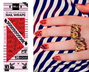 NCLA(エヌシーエルエー)Sketch/ネイルシール/ネイルラップ/NAIL WRAPS/26本分<img class='new_mark_img2' src='https://img.shop-pro.jp/img/new/icons16.gif' style='border:none;display:inline;margin:0px;padding:0px;width:auto;' />