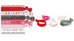 Kitsch(キッチュ)Crazy in Love ヘアアクセサリー5本セット/ヘアゴム/ブレスレット/Hair Ties<img class='new_mark_img2' src='https://img.shop-pro.jp/img/new/icons16.gif' style='border:none;display:inline;margin:0px;padding:0px;width:auto;' />