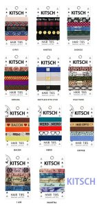 Kitsch(キッチュ)ヘアアクセサリー5本セット/ヘアゴム/ブレスレット/Hair Ties<img class='new_mark_img2' src='https://img.shop-pro.jp/img/new/icons16.gif' style='border:none;display:inline;margin:0px;padding:0px;width:auto;' />